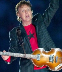 paum mccartney concert à bercy,mccartney,beatles,back in the ussr