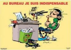 travail,chanson française,michel polnareff,gaston lagaffe,gaston lagaffe est mon modèle de vie